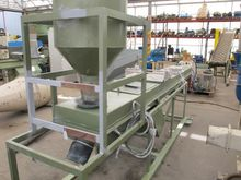 Pellet cooling of PVC, 4 m x 0.