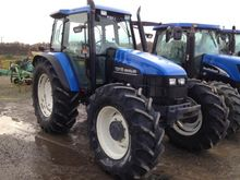 2002 New Holland TS 115 Farm Tr