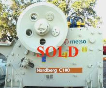 METSO-NORDBERG Model C100 Jaw C