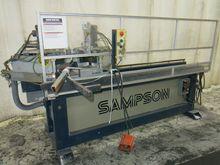 SAMPSON CM4000 GLASS SAW ELECTR