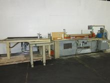 A & S SAW 3 FEED TABLES, 3 HP V