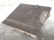 WEIGHT PLATE SCALE RAMP, NO DIG