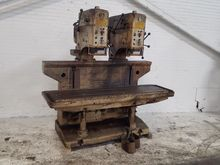 ALZMETALL DUAL HEAD DRILL PRESS