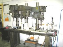 Clausing Drill Press on 4 Spind