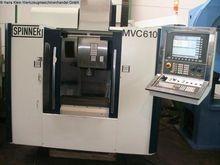 SPINNER MVC 610 Vertical machin