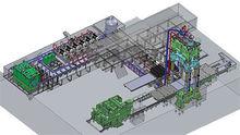 6000/8000 ton 4-Column 3-Cylind