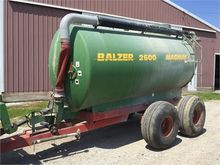 used BALZER 2600 Agricultural E