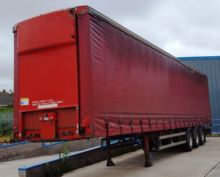 2001 M&G Tri-axle curtain