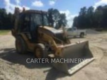 2001 Caterpillar 420D Rigid Bac