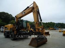 2013 Caterpillar M322D Wheeled
