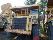 1995 Caterpillar 777C Rigid Dum