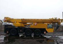 2001 mobile crane Terex PPM ATT