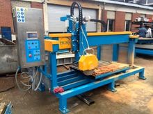 The machine for cutting stone,