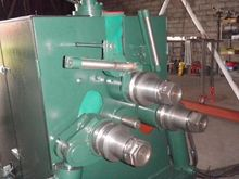 Rolls bending machine for pipes