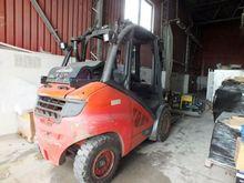 2014 forklift LINDE H50T-02