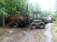 Forestry equipment forwarder 91