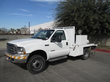 2004 Ford F550 9' Flatbed Truck