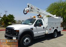 2008 Ford F550 Bucket Boom Truc
