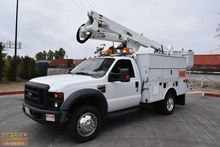2008 Ford F550 Altec AT37-G 42'