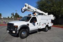 2008 Ford F550 4x4 Altec AT37-G