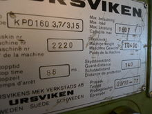 Ursviken Press brakes