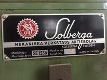 Solberga Pillar drilling machin