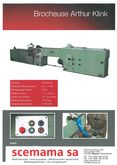 "BROACHING MACHINE ""ARTHUR KLINK"