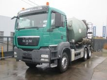 2013 Man TGS 33.360 BB+containe