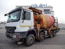 2007 Mercedes-Benz 4146 8x4 Pum