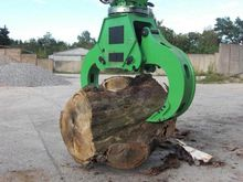 Holzspaltzange wood split grapp