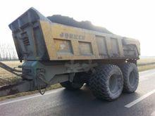 Joskin gronddumper 17 ton