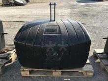 Masse acier / béton 1100 kg CAS