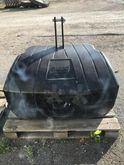 Masse acier / béton 900 kg CASE