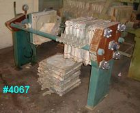 Netzsch 3 CU. FT.  FILTER PRESS
