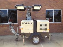 2012 Doosan V9 Lighting Tower