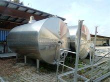 Ahlborn 2 stainless steel tanks