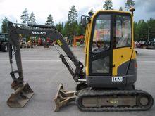 Used Volvo ECR28 in