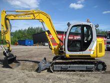 New Holland E80MSR the tilt + B