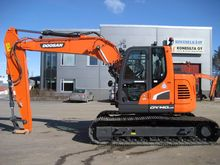 Used Doosan DX140LCR