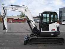 Used Bobcat E80 in K