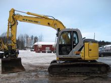 New Holland Kobelco E135Bsr PRO