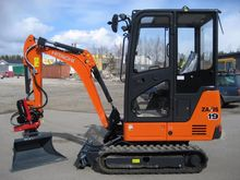 Hitachi NEW ZX19-5, rotator