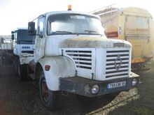 1973 BERLIET GBH 6X4 CHASSIS CA