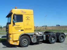 2000 DAF XF95 tractor head 6x4