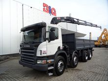 New Scania P380 8x4