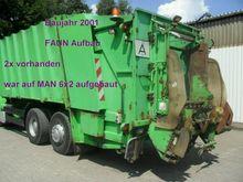 2001 Faun garbage truck