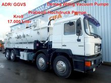 1994 MAN 32.322 8x4 suction cle