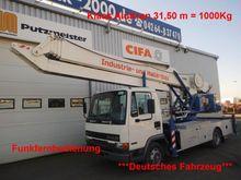 2000 DAF AE45 Klaas Erecting ro