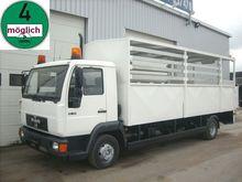 2002 MAN 10.185 rear dump truck