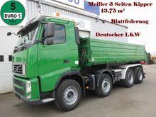 2010 Volvo FH13 430 8x4 Meiller
